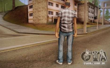 Asiática cara para GTA San Andreas segunda tela