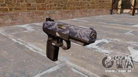 Arma FN Cinco-sete Azul Camo para GTA 4
