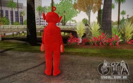 (Teletubbies) para GTA San Andreas segunda tela