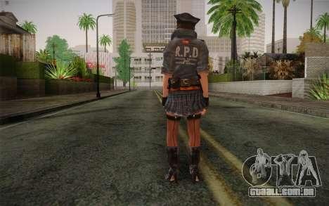 Helena Harper Police Version para GTA San Andreas segunda tela