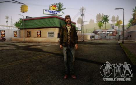 Kenny из The Walking Dead para GTA San Andreas