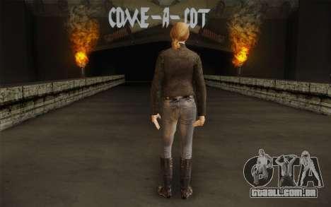 Alice Wake para GTA San Andreas segunda tela