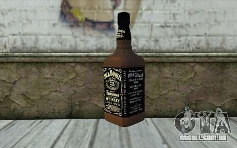 Jack Daniels Whiskey para GTA San Andreas