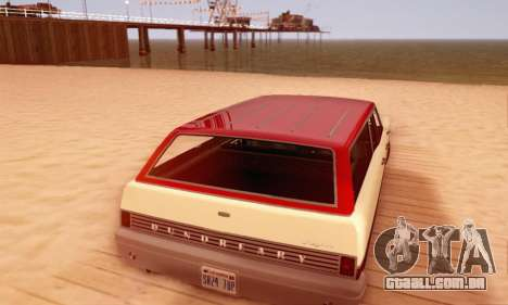 Dundreary Regina V1.0 para o motor de GTA San Andreas