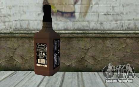 Jack Daniels Whiskey para GTA San Andreas segunda tela