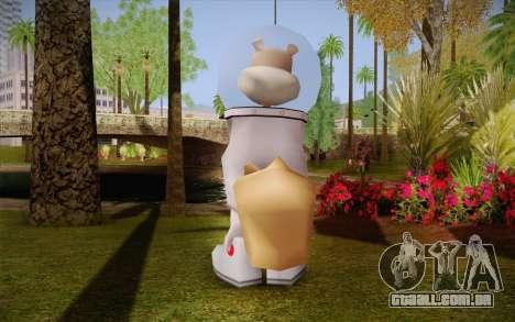 Sandy Cheeks para GTA San Andreas segunda tela