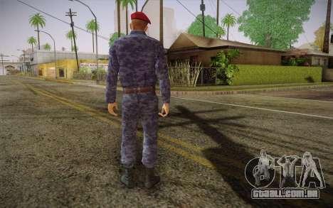 Berkut para GTA San Andreas segunda tela