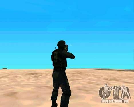 Jackhammer из Max Payne para GTA San Andreas sexta tela