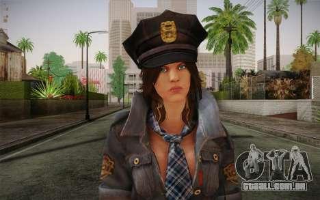 Helena Harper Police Version para GTA San Andreas terceira tela