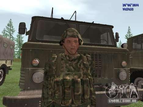 O lutador do exército russo para GTA San Andreas