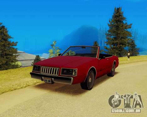 Majestic Conversível para GTA San Andreas