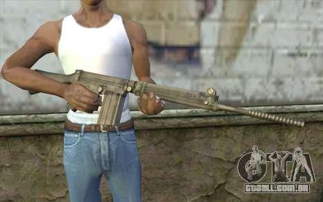 Fuzil FAL para GTA San Andreas terceira tela