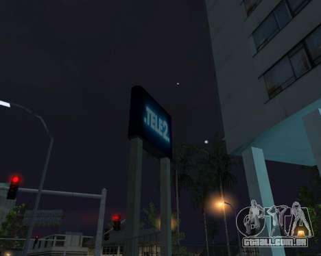 Office TELE2 para GTA San Andreas quinto tela