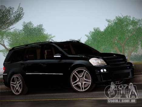 Mercrdes-Benz GL500 para GTA San Andreas esquerda vista