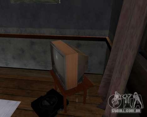 Tv em cores de alfa-TC- para GTA San Andreas segunda tela
