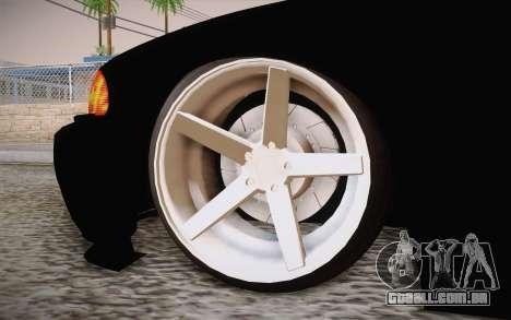 BMW 318 Ci 34 UNL 58 para GTA San Andreas traseira esquerda vista