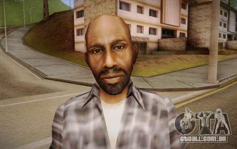 Asiática cara para GTA San Andreas terceira tela