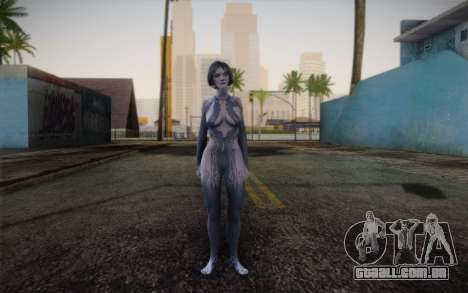 Cortana from Halo 4 para GTA San Andreas