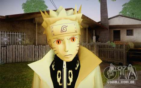 Naruto Kurama para GTA San Andreas terceira tela