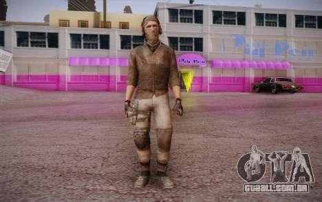 Mercenário sem armadura (COD MW3) para GTA San Andreas