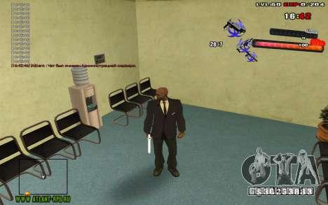 C-HUD by thereobull para GTA San Andreas terceira tela