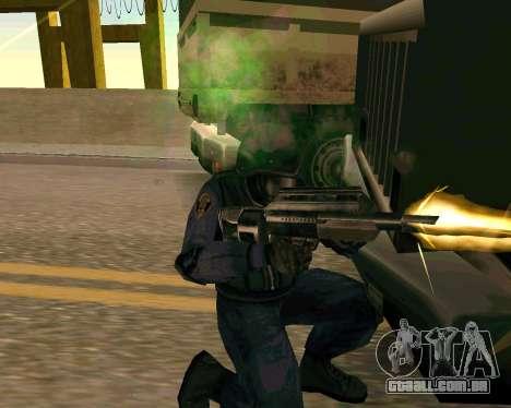 Jackhammer из Max Payne para GTA San Andreas sétima tela