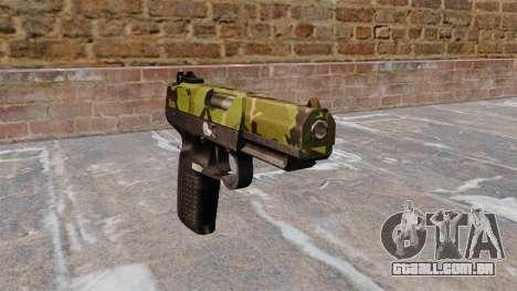 Arma FN Cinco sete Floresta para GTA 4
