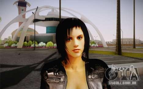 Jill Biker para GTA San Andreas terceira tela