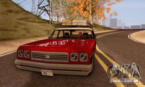 Dundreary Regina V1.0 para GTA San Andreas traseira esquerda vista
