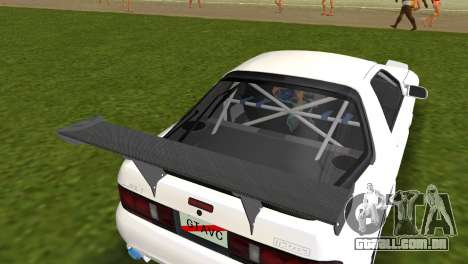 Mazda Savanna RX-7 III (FC3S) para GTA Vice City vista traseira