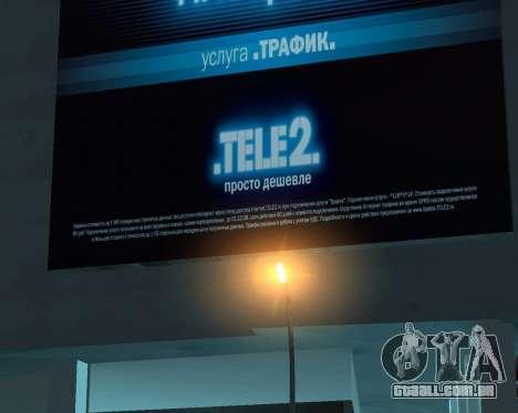 Office TELE2 para GTA San Andreas segunda tela