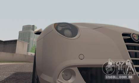 Afla Romeo Mito Quadrifoglio Verde para o motor de GTA San Andreas
