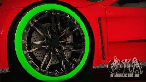 Zenvo ST1 SLow 2010 para GTA San Andreas traseira esquerda vista