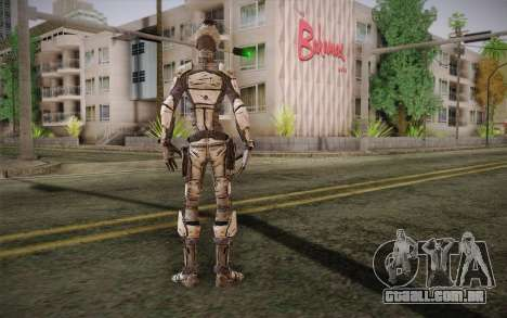 Zero из Borderlands 2 para GTA San Andreas segunda tela