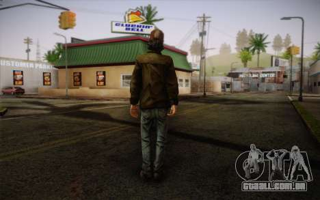Kenny из The Walking Dead para GTA San Andreas segunda tela