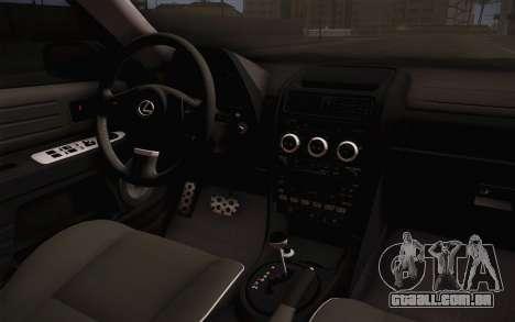 Lexus IS300 2003 para GTA San Andreas vista direita