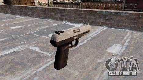 Arma FN Cinco sete ACU Camo para GTA 4 segundo screenshot