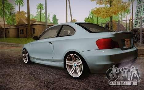 BMW 135i Limited Edition para GTA San Andreas esquerda vista