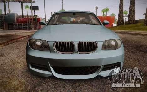 BMW 135i Limited Edition para GTA San Andreas vista direita