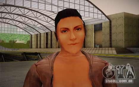 Woman Autoracer from FlatOut v4 para GTA San Andreas terceira tela