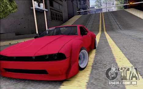 Elegy Rocket Bunny para GTA San Andreas vista interior