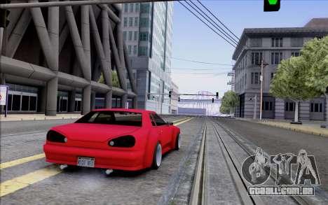 Elegy Rocket Bunny para GTA San Andreas vista direita