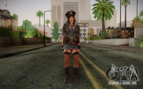 Helena Harper Police Version para GTA San Andreas