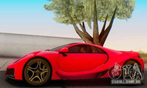 GTA Spano 2014 HQLM para GTA San Andreas vista interior