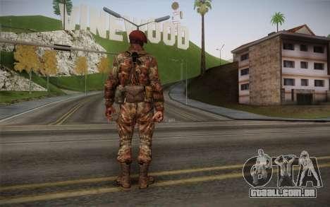 U.S. Soldier v2 para GTA San Andreas segunda tela