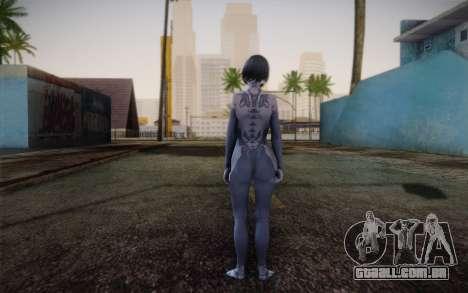 Cortana from Halo 4 para GTA San Andreas segunda tela