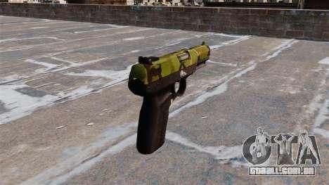 Arma FN Cinco sete Floresta para GTA 4 segundo screenshot