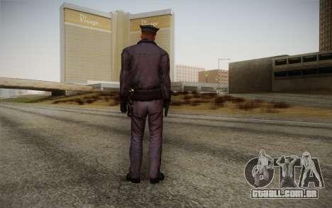 Policeman from Alone in the Dark 5 para GTA San Andreas segunda tela