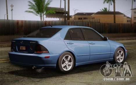 Lexus IS300 2003 Para GTA San Andreas .