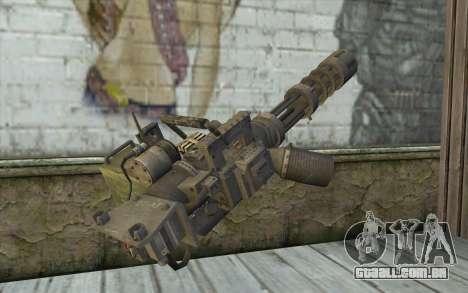 A metralhadora giratória, com uma loja para GTA San Andreas segunda tela